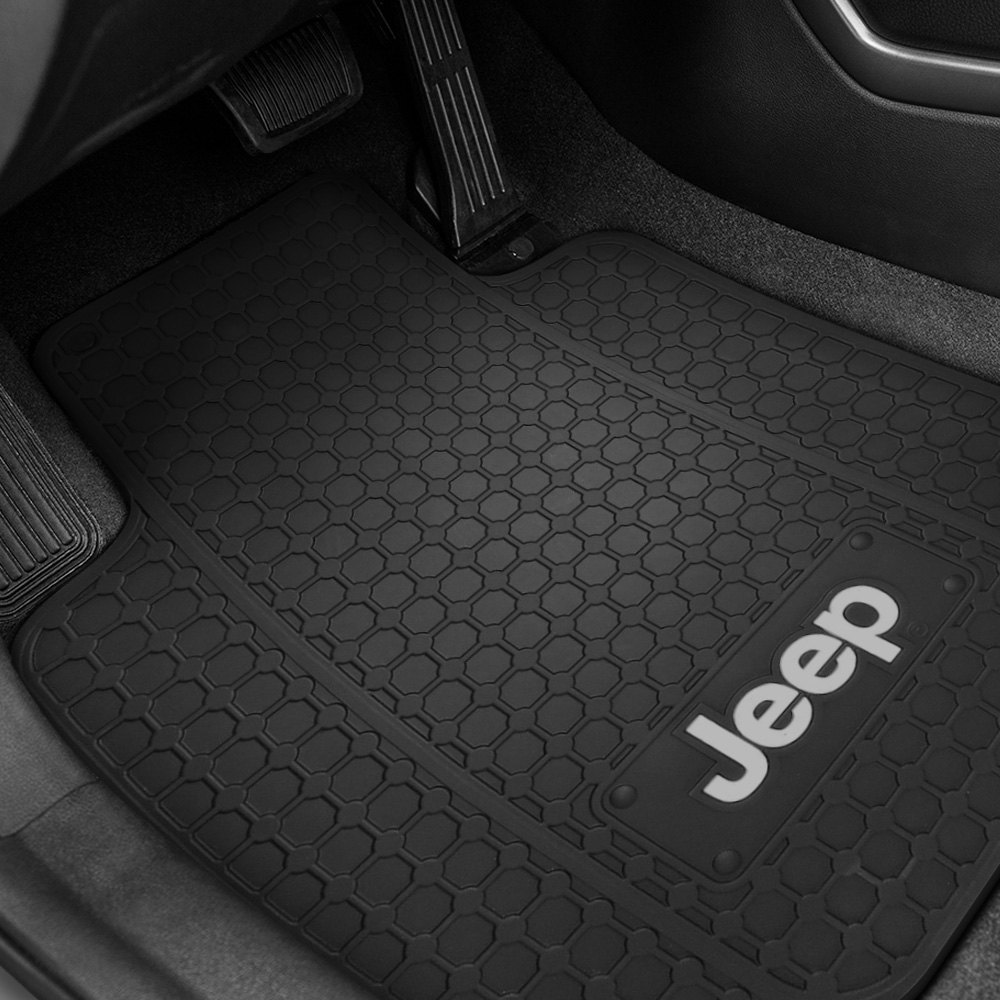 Plasticolor 174 Floor Mats With Jeep Logo