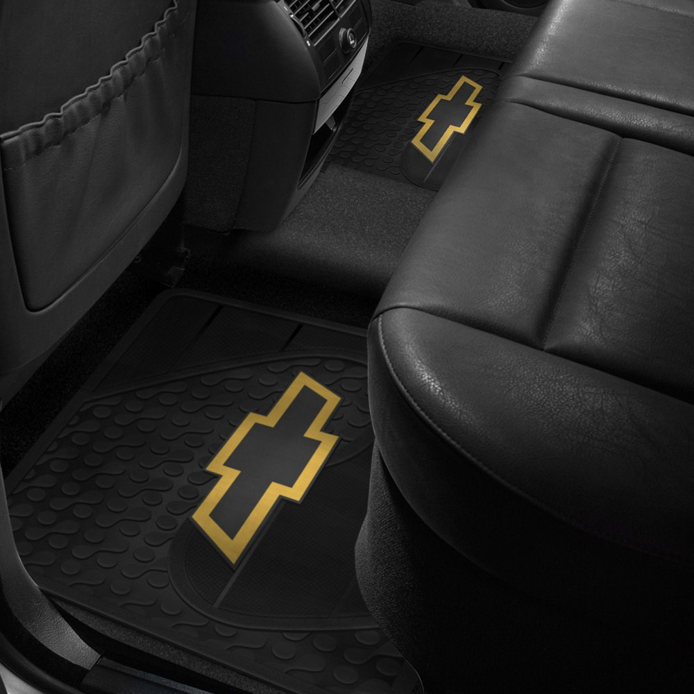 Plasticolor 174 Floor Mats With Chevy Logo