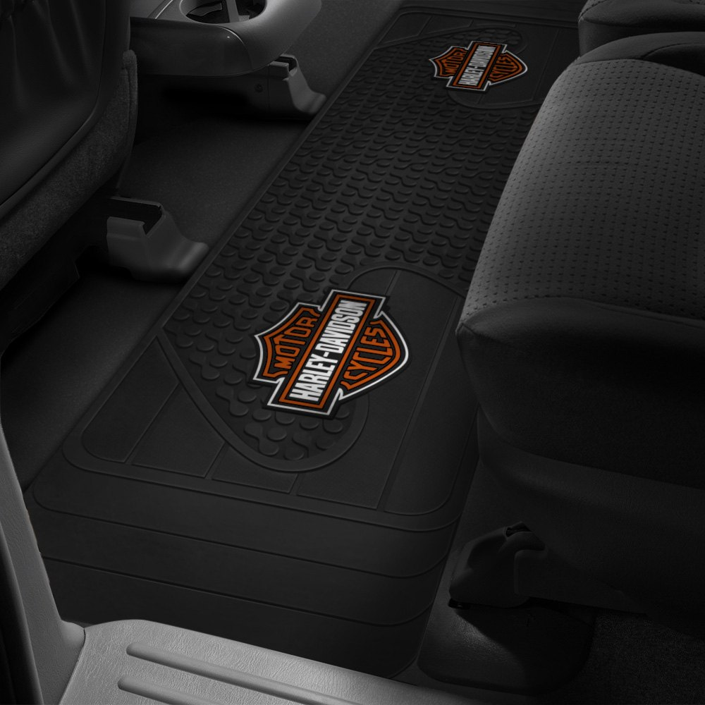 Plasticolor® - Floor Mats with Harley-Davidson Logo