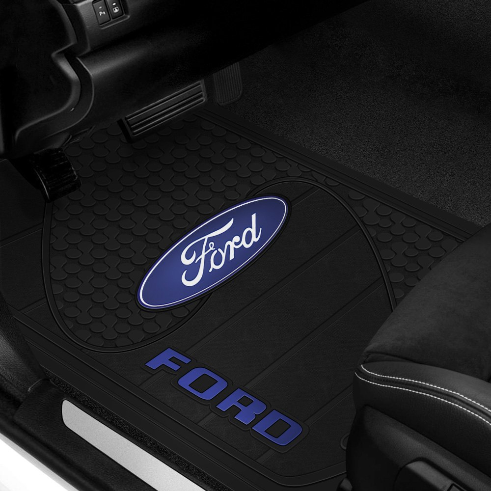 Plasticolor 174 Floor Mats With Ford Logo