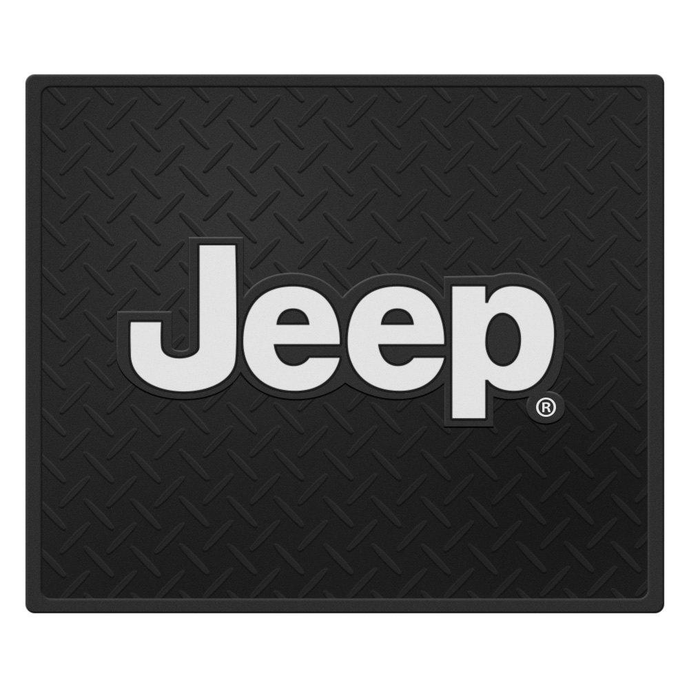 Plasticolor 174 001054r01 Utility Floor Mat With Jeep Logo