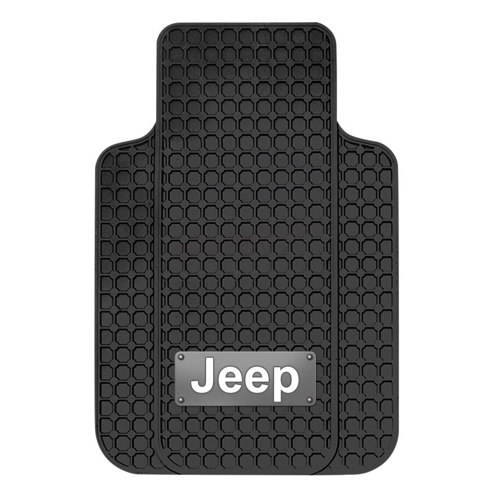 Plasticolor 174 001645r01 Floor Mats With Jeep Logo