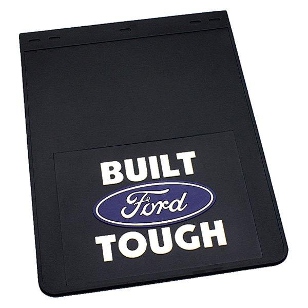 plasticolor® 000336r01 - built ford tough logo mud flaps