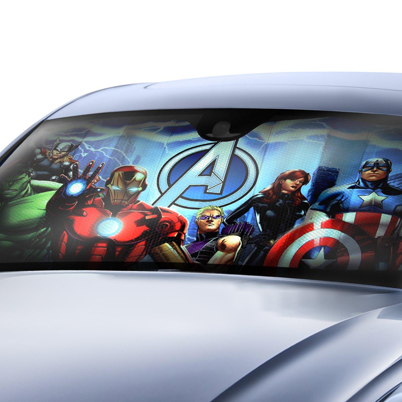 Plasticolor® 003695R01 - Marvel New Avengers Bubble Accordion Sun Shade f767968d827