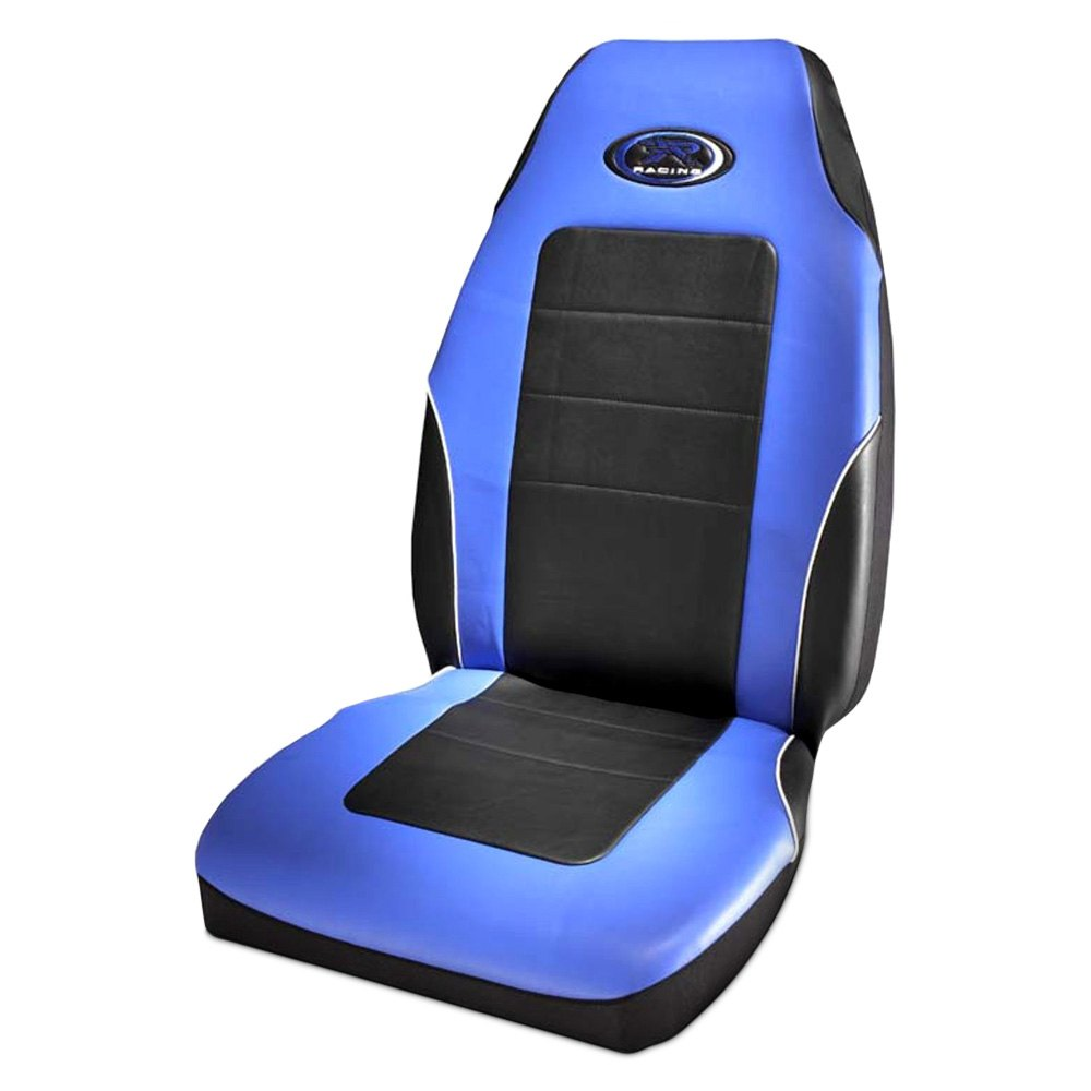 Plasticolor 174 006552r02 R Racing Stage Iii Blue Seat Cover