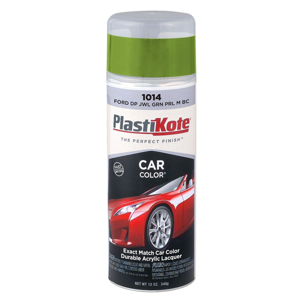 Frost Green Car Paint