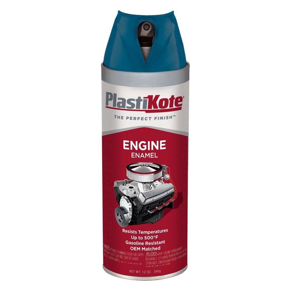 Plastikote 201 12 oz chevy blue spray engine enamel Aerosol paint spray