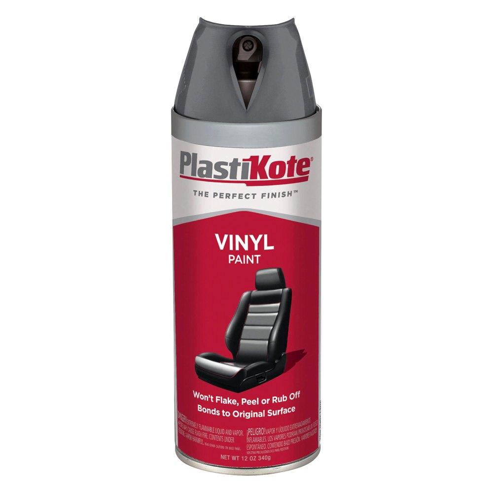 Plastikote 174 408 12 Oz Charcoal Gray Spray Can Vinyl