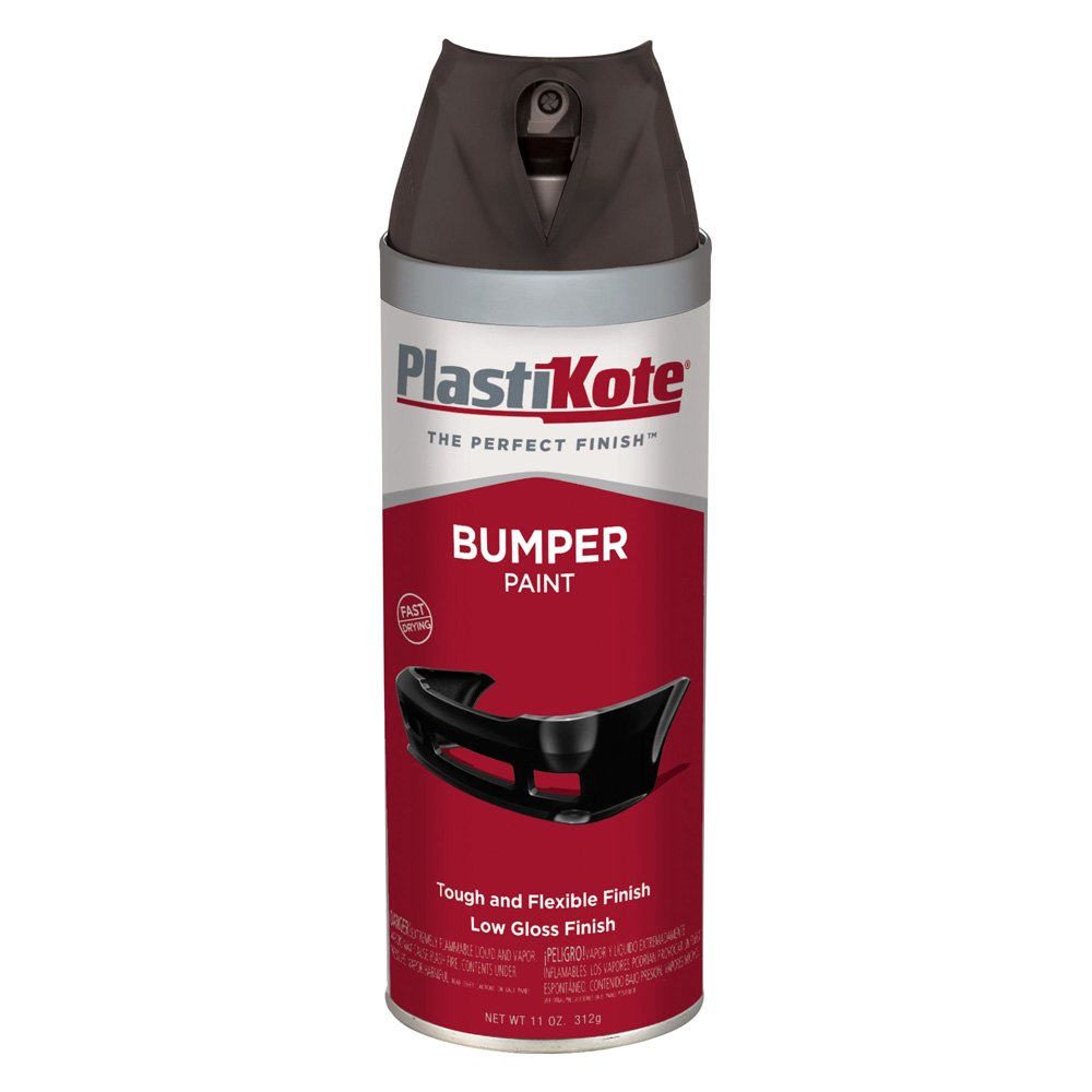 plastikote 616 11 oz black spray can bumper paint ebay. Black Bedroom Furniture Sets. Home Design Ideas