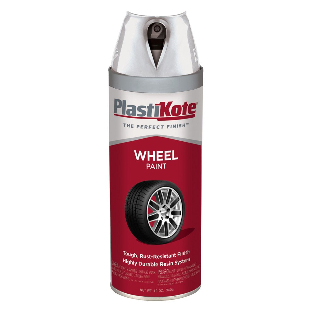 Plastikote 618 12 Oz Steel Color Spray Can Wheel Paint
