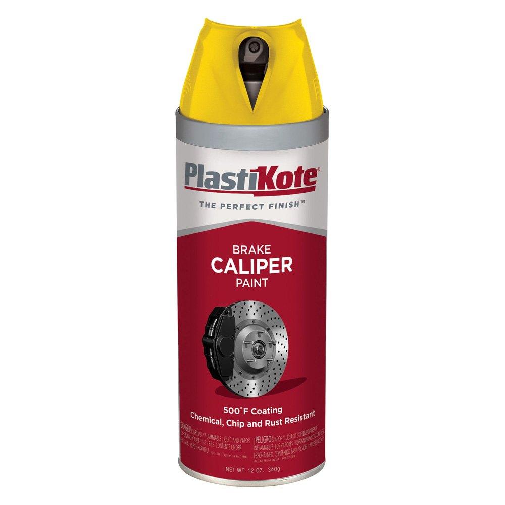 plastikote 12 oz bright yellow spray can brake caliper paint. Black Bedroom Furniture Sets. Home Design Ideas