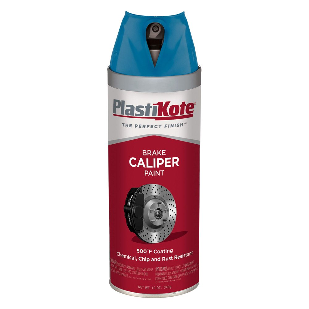 Plastikote 12 oz spray can brake caliper paint Paint with spray can