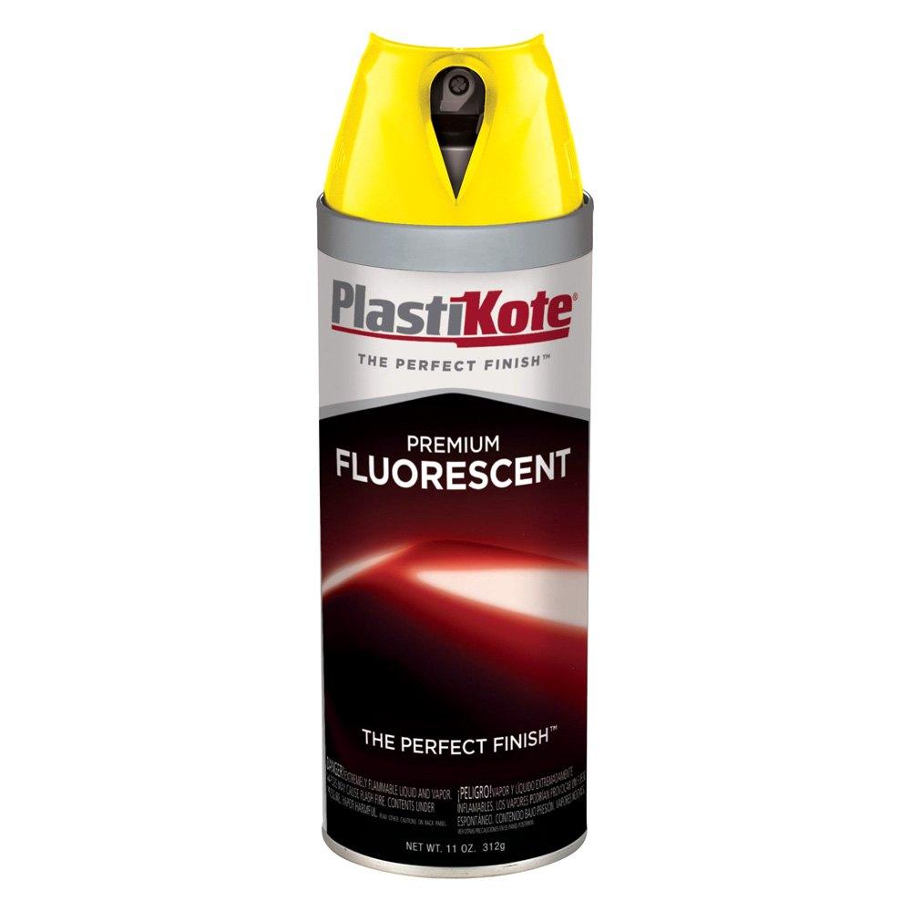 Plastikote Fl 10 11 Oz Yellow Spray Can Fluorescent Paint