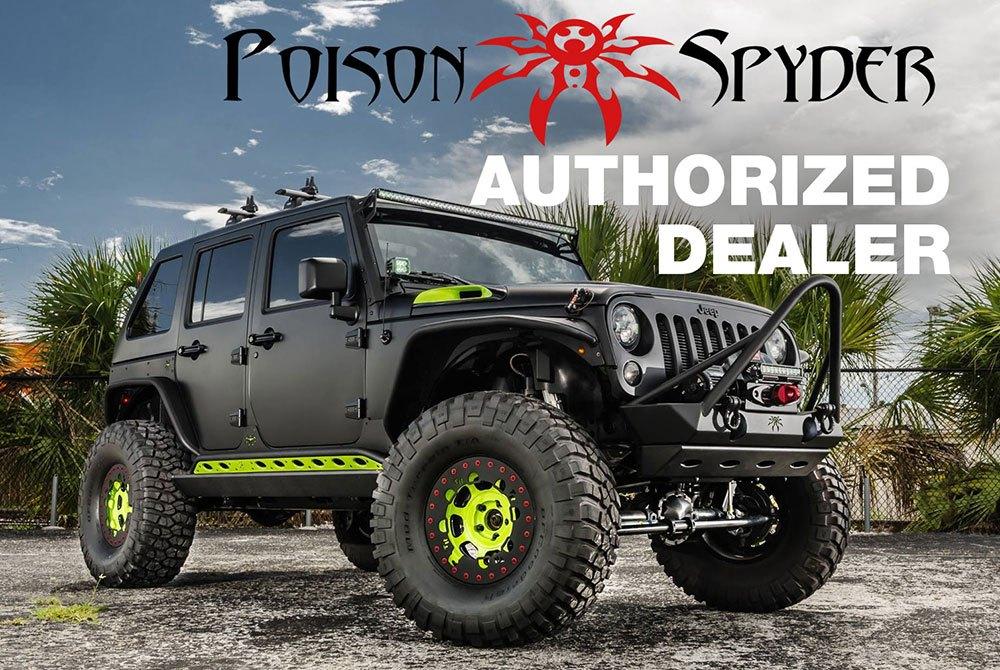 Poison Spyder Customs Authorized Dealer