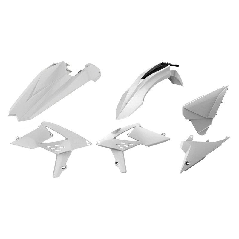 Polisport Plastic Kit Set OEM White Replacement NEW Beta RR 2018-2019