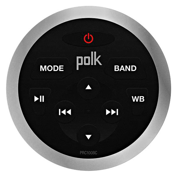 polk audio silver marine wired remote for pa450um stereo. Black Bedroom Furniture Sets. Home Design Ideas