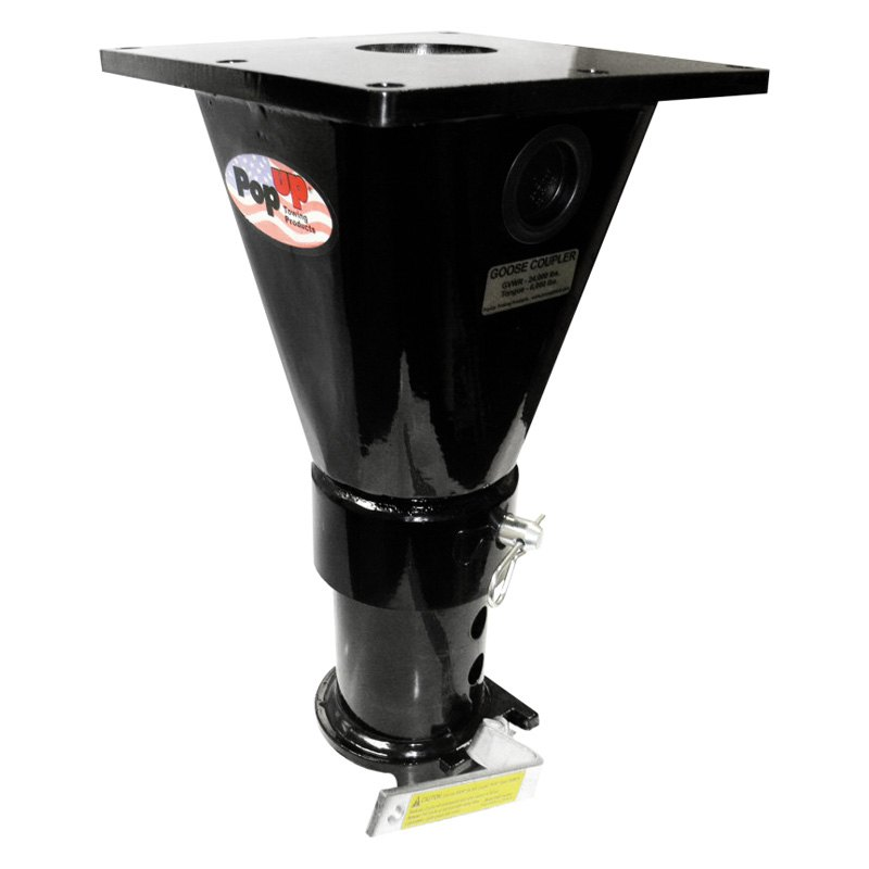 Popup 174 Rv33 5th Wheel To Gooseneck Adapter W O Offset