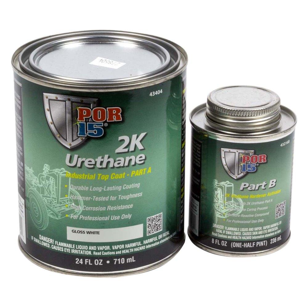 Por 15 43404 2k Urethane 1 Qt Gloss White Paint