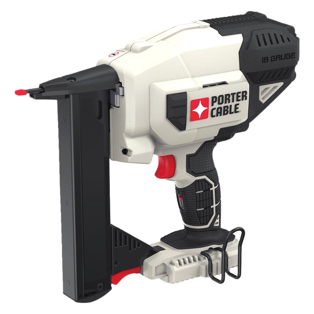 Porter cable pcc791b 20v max 18 gauge narrow crown stapler for Porte cave
