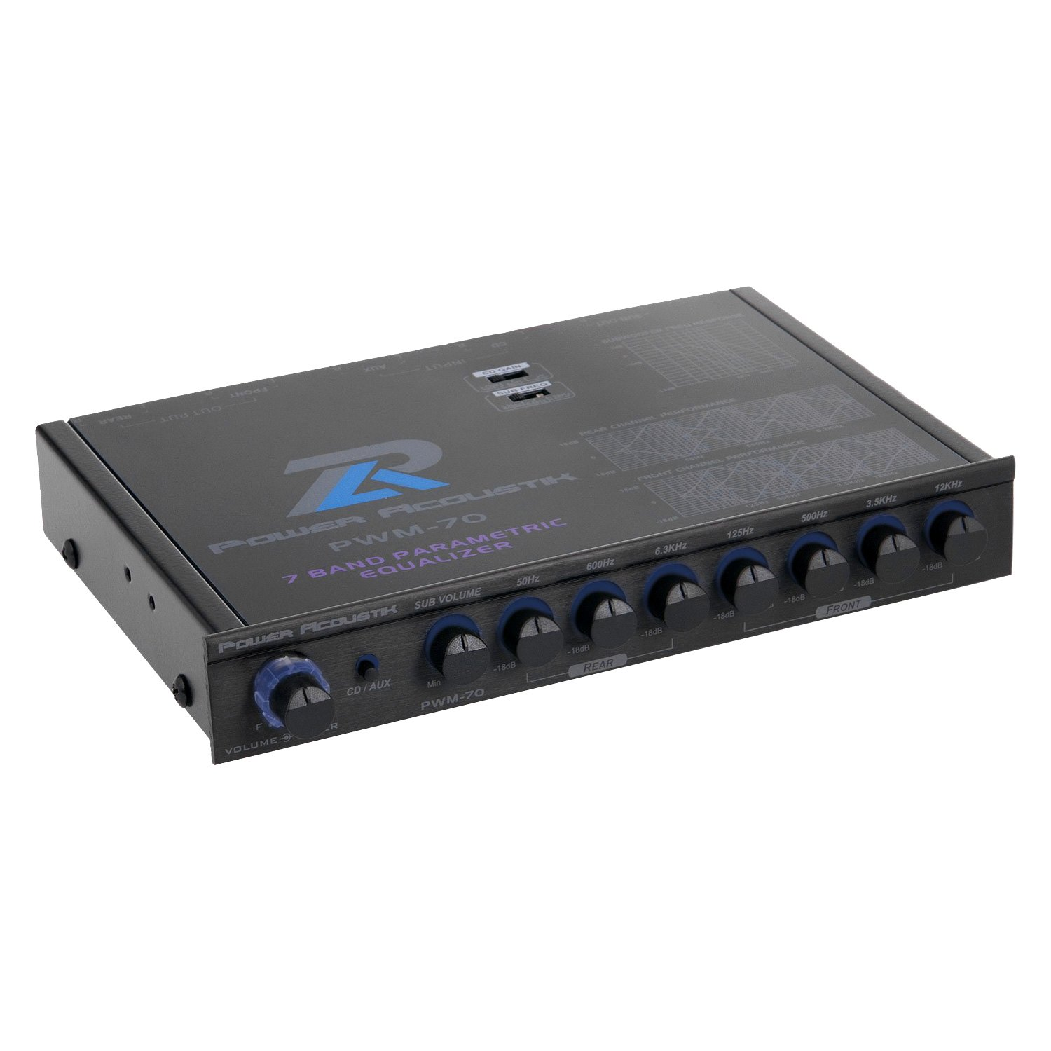 Power Acoustik PWM-Pre Amp Equalizer with