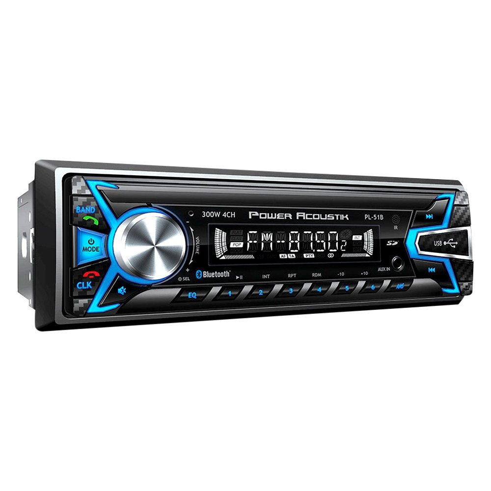 Power Acoustik U00ae Pl51b  Fm  Mp3  Mp4 Digital