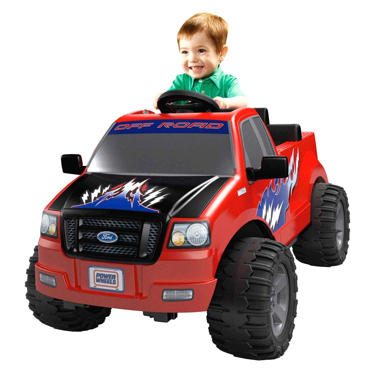 Ford Toys For Boys : Power wheels dmk red ford lil f