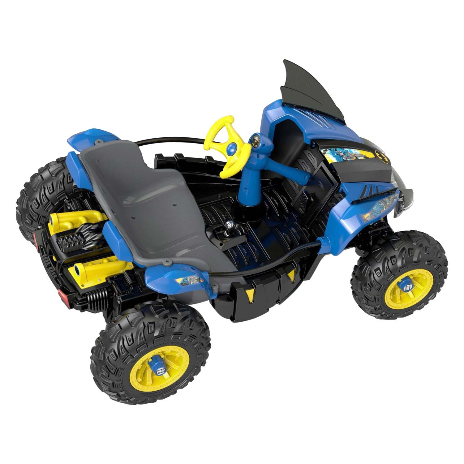 Get the power wheels dune racer 12 volt battery powered for Fisher price motorized cars