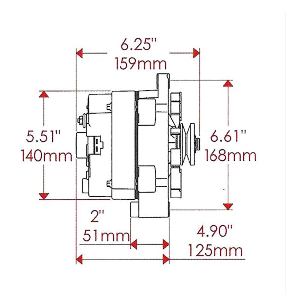 Powermaster® - 12SI Alternator on
