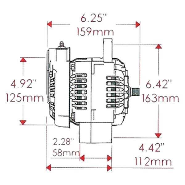 denso alternator repair parts