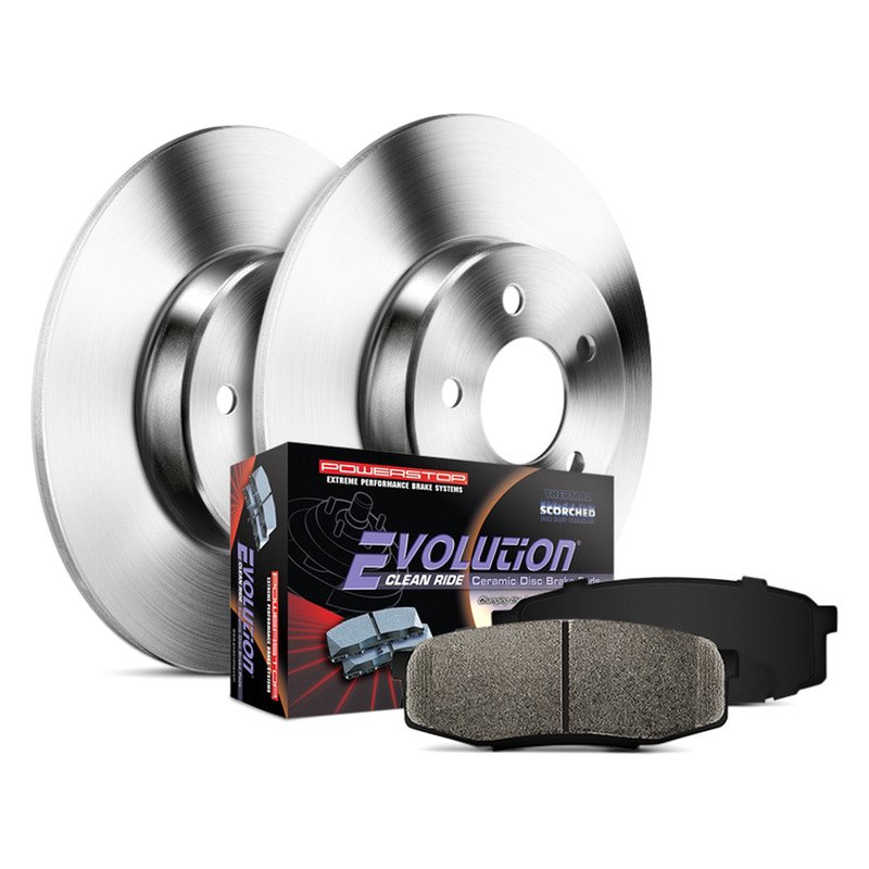 Power Stop Brakes >> Power Stop 1 Click Autospecialty Oe Replacement Plain Brake Kit