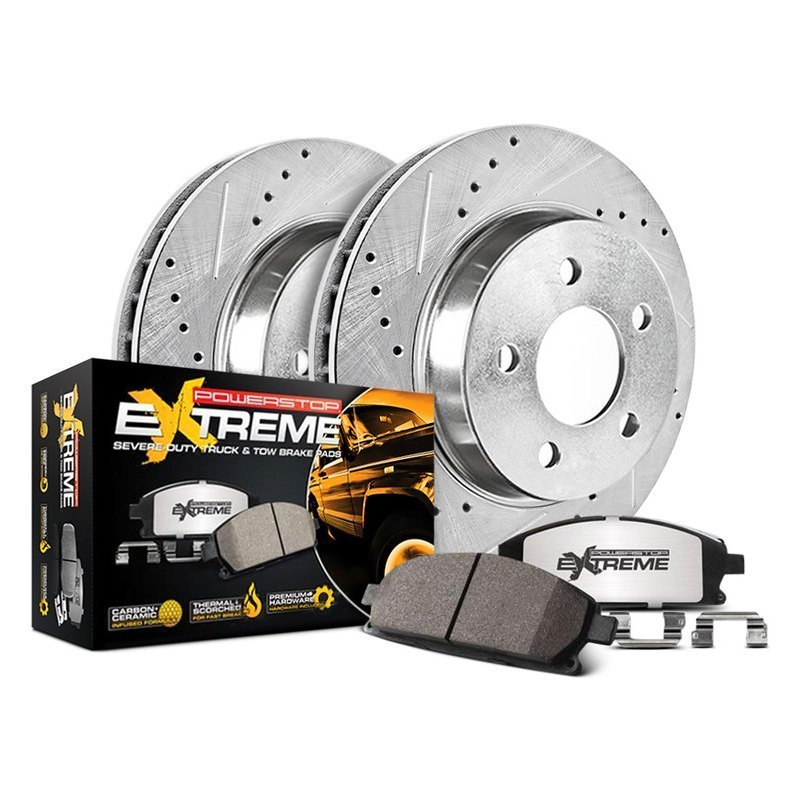 Power Stop K2445-36 Rear Z36 Truck and Tow Brake Kit