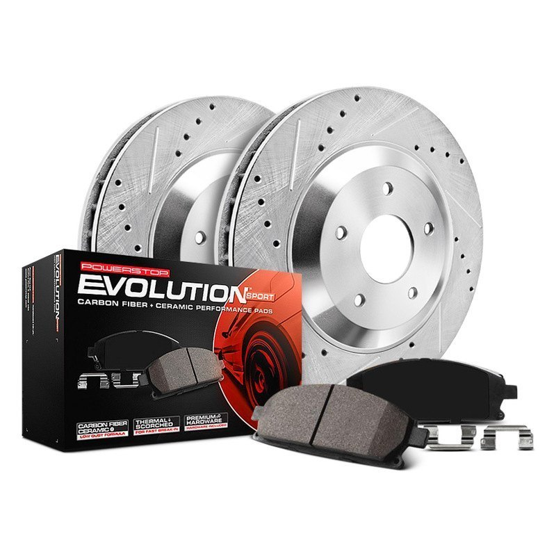 Power Stop Brakes >> Powerstop K690 1 Click Z23 Evolution Sport Drilled And Slotted