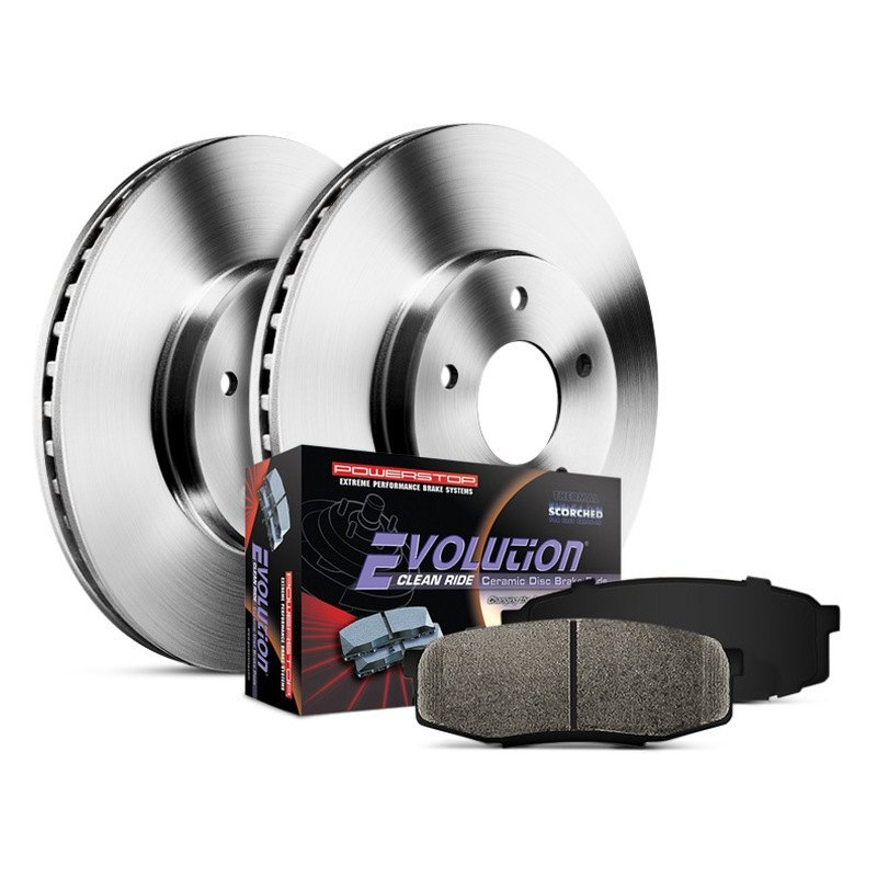 Autospecialty KOE163 1-Click OE Replacement Brake Kit