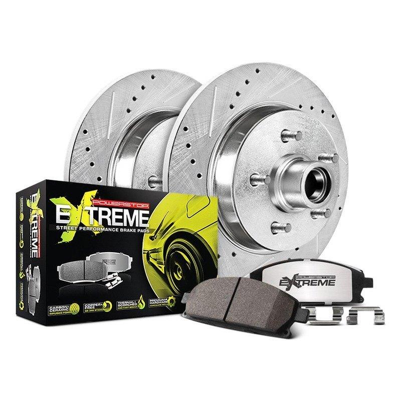 Power Stop K2825-26 1-Click Street Warrior Z26 Brake Kit