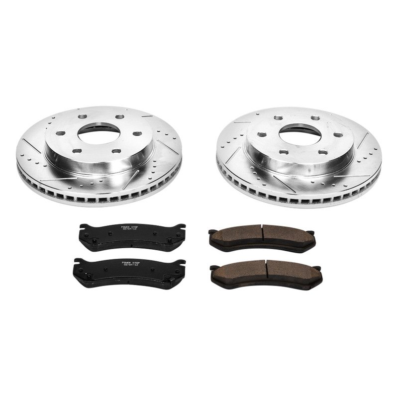 Powerstop K2009 Vented Front Brake Kit Drilled Amp Slotted