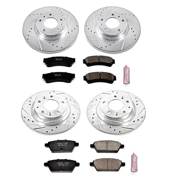 For Ford Fusion 06 12 Brake Kit 1 Click Z23 Evolution