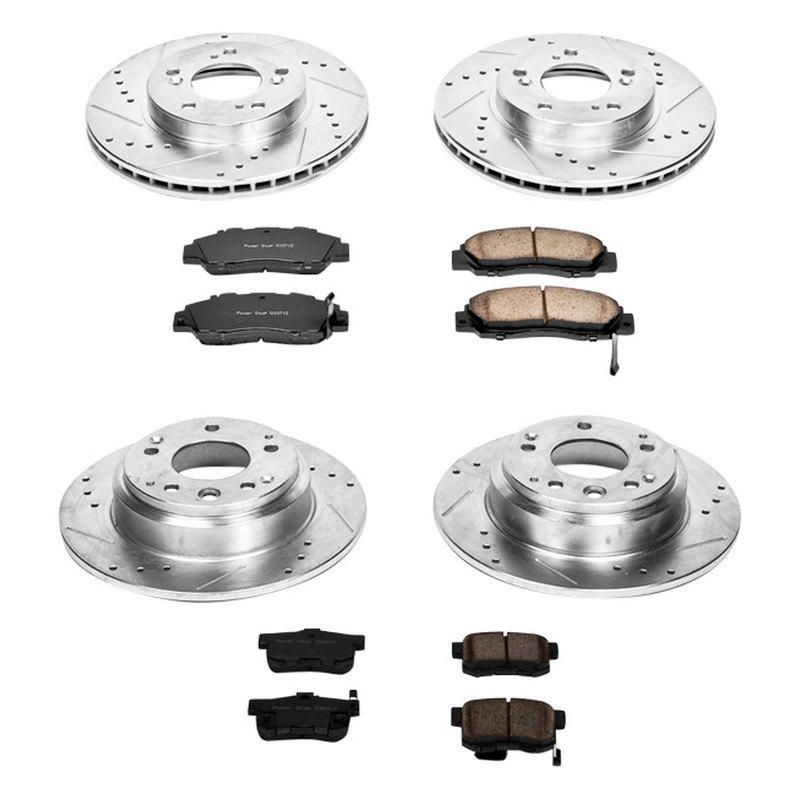 For Acura Legend 91-95 Brake Kit Power Stop 1-Click Z23