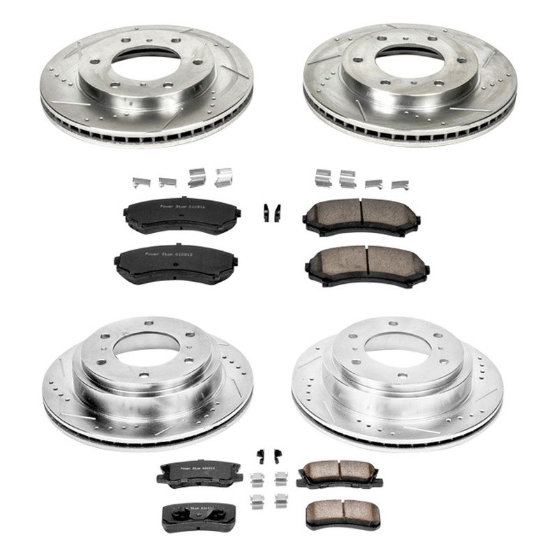 Autospecialty KOE2755 1-Click OE Replacement Brake Kit Power Stop