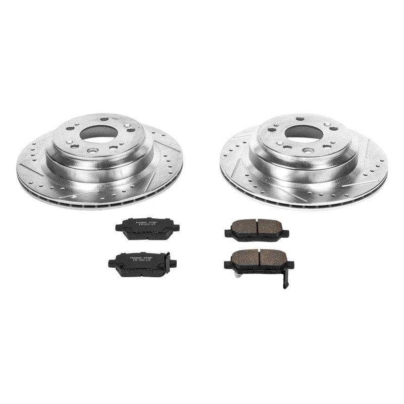 For Acura RL 05-12 Brake Kit Power Stop 1-Click Z23