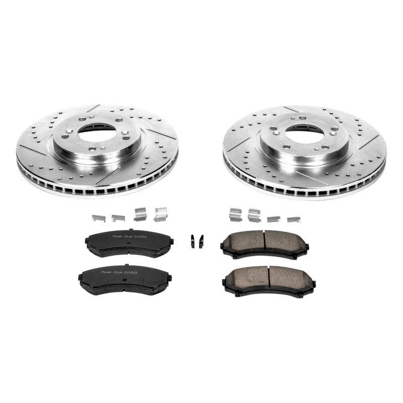 Ceramic Pads Kit For Mitsubishi Endeavor Rear OE Brake Calipers /& Rotors