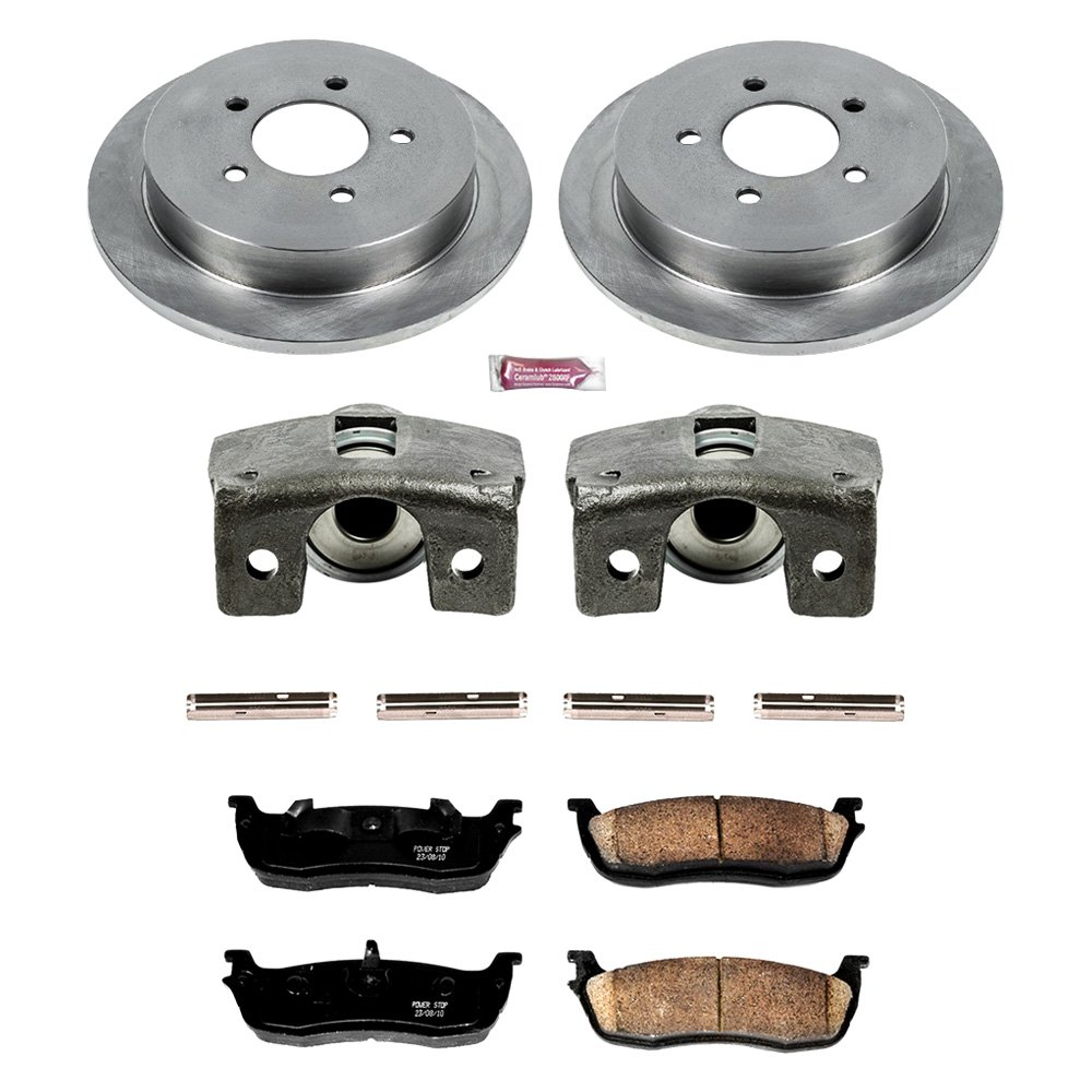 Power Stop KCOE1781 Autospecialty 1-Click OE Replacement Brake Kit with Calipers