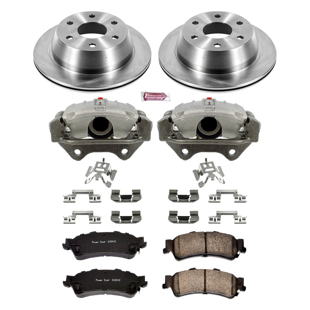 Powerstop 4-Wheel Set Brake Disc and Pad Kits Front /& Rear New KOE4423