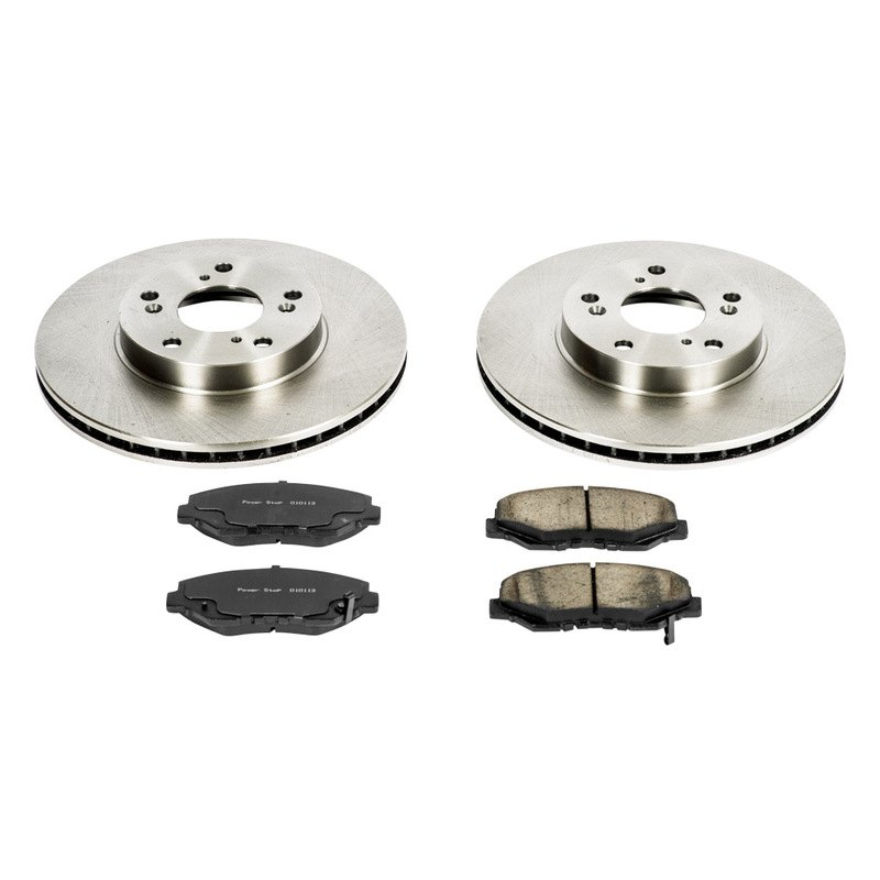 ... - Honda CR-V 2002-2003 1-Click Vented OE Replacement Front Brake Kit