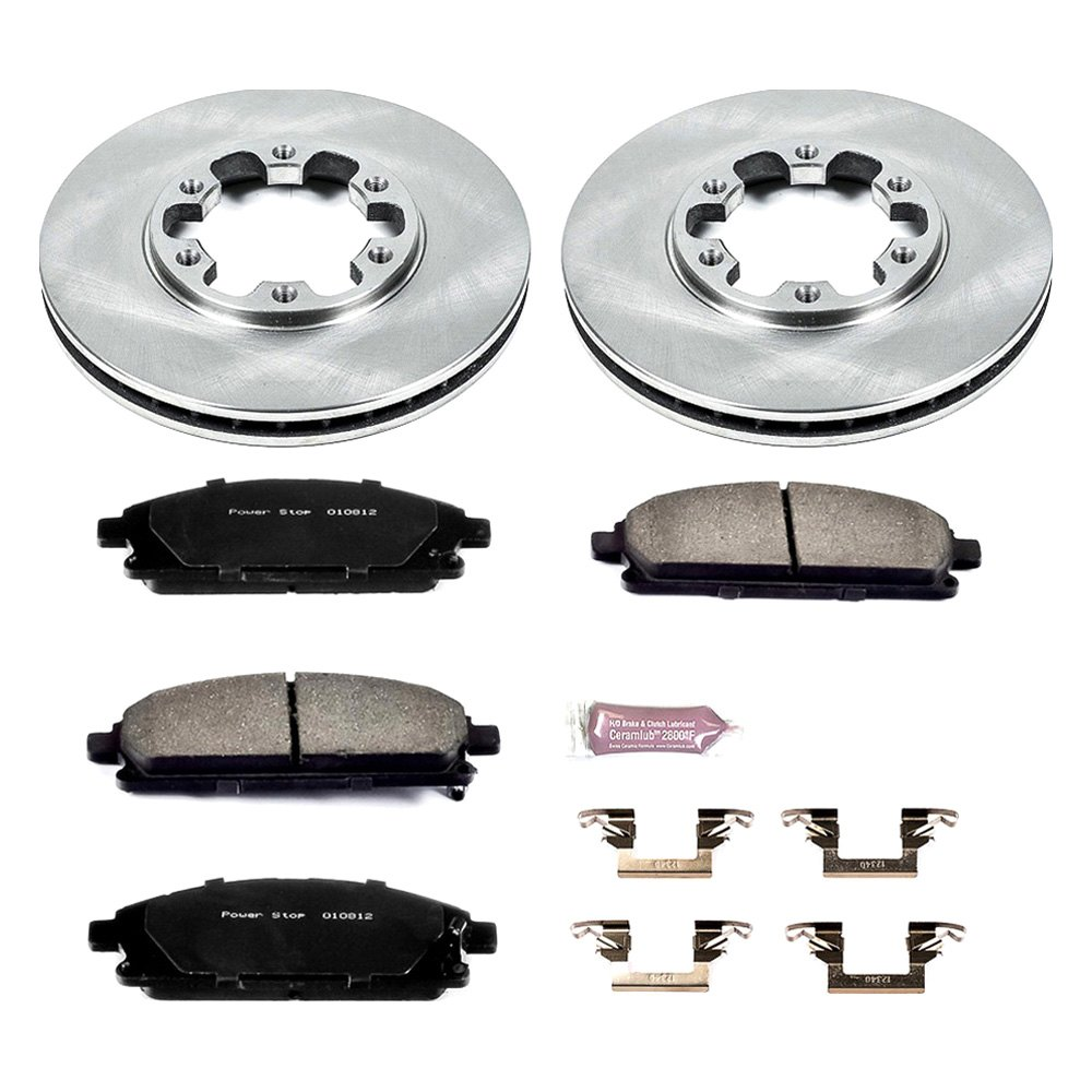 Drum and Shoe Kits Rotor Power Stop Front /& Rear KOE15115DK Autospecialty Daily Driver Pad