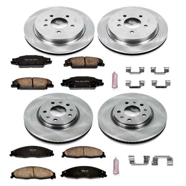 Autospecialty KOE1429 1-Click OE Replacement Brake Kit