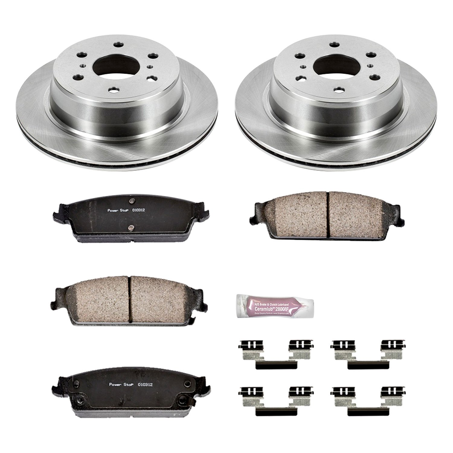 Front KOE5559 Daily Driver OE Brake Kit Autospecialty