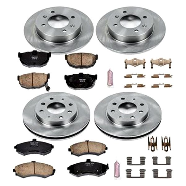 Autospecialty KOE1093 1-Click OE Replacement Brake Kit Power Stop