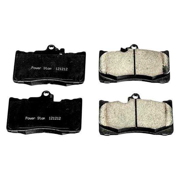 Lexus Brake Pads: For Lexus GS350 13-18 Z16 Evolution Clean Ride Ceramic