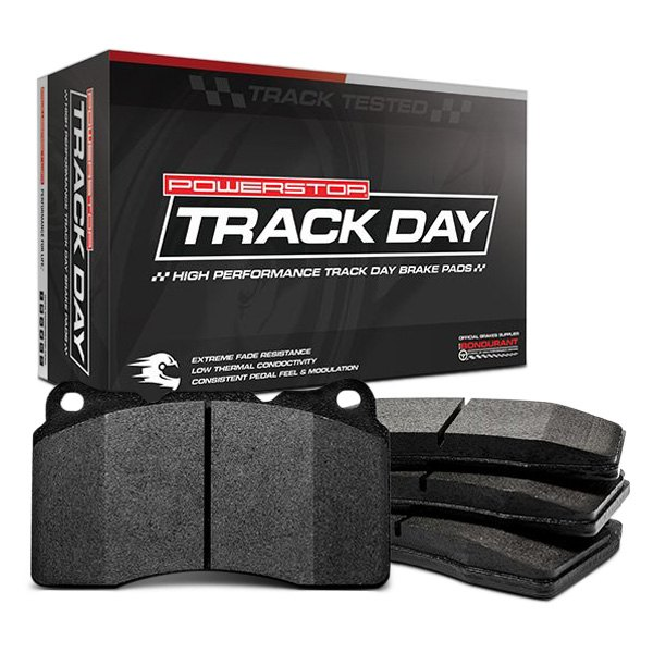 Powerstop 174 Pst 1053 Track Day Carbon Fiber Metallic