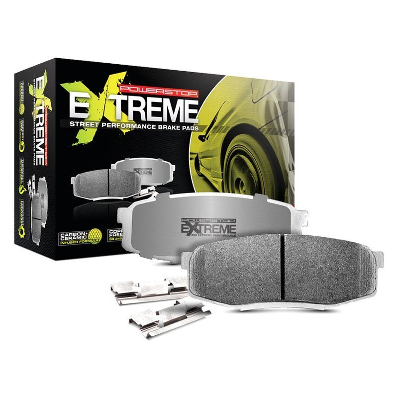 Power Stop Z26 Extreme Street Performance Carbon Fiber Ceramic